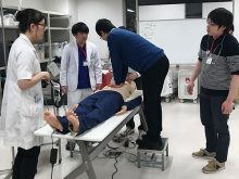日本内科学会認定JMECC(内科救急・ICLS講習会)を開催しました(開催日:2019年1月31日(木))