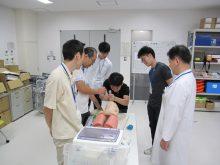 日本内科学会認定JMECC(内科救急・ICLS講習会)を開催しました(開催日:2018年8月26日(日))